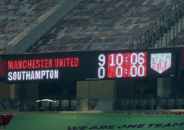 Những chiến thắng đậm đà nhất mọi thời đại của Man Utd - Bóng Đá