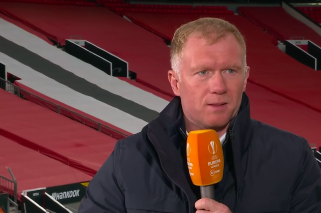 Paul Scholes slams Fred during Manchester United's 6-2 win over Roma - Bóng Đá