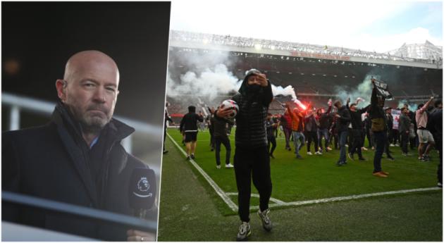 Alan Shearer chỉ trích fan Man Utd: