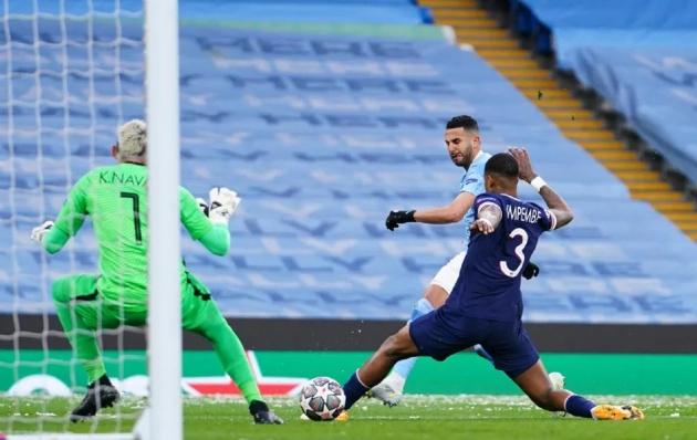 TRỰC TIẾP Man City 1-0 PSG (H1): Mahrez ghi bàn - Bóng Đá