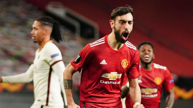 Bruno Fernandes: Manchester United midfielder says winning Europa League is 'not enough' for the club - Bóng Đá