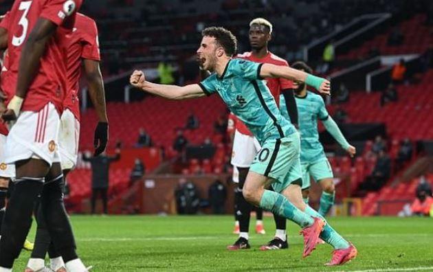 TRỰC TIẾP Man Utd 1-1 Liverpool (H1): Jota ghi bàn - Bóng Đá