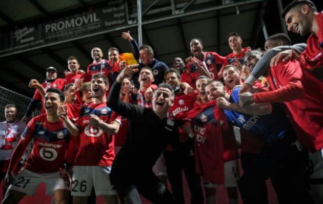 Lille lên ngôi vô địch Ligue 1 2020/21 - Bóng Đá