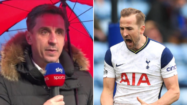 Gary Neville names three players Manchester United could offer to Tottenham in Harry Kane swap deal - Bóng Đá