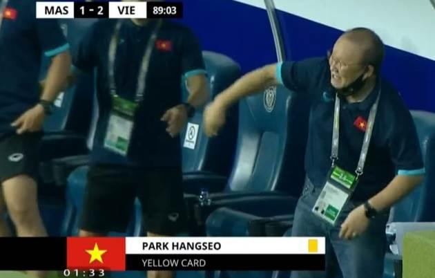 HLV Park Hang-seo bị cấm trận UAE - Bóng Đá