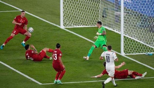 TRỰC TIẾP Thổ Nhĩ Kỳ 0-1 Ý (H2): Phản lưới nhà - Bóng Đá