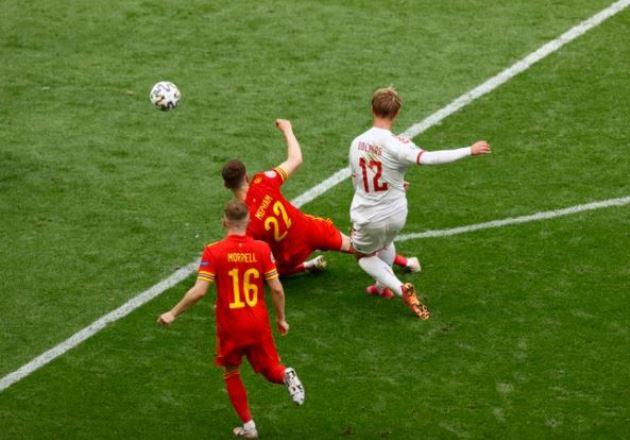 TRỰC TIẾP Wales 0-1 Đan Mạch (H1): Siêu phẩm của Dolberg - Bóng Đá
