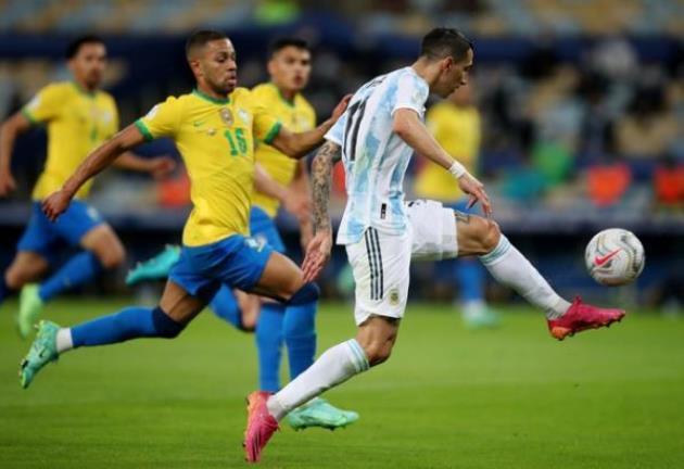 TRỰC TIẾP Argentina 1-0 Brazil (H1): Di Maria lốp bóng - Bóng Đá