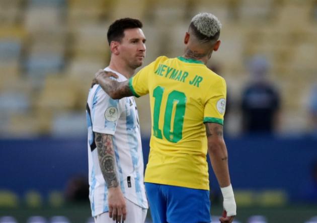 TRỰC TIẾP Argentina 0-0 Brazil (H1): Mũi đinh ba lợi hại, Fred đá chính - Bóng Đá