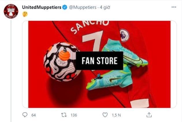 Jadon Sancho's Manchester United shirt number revealed in leaked images - Bóng Đá