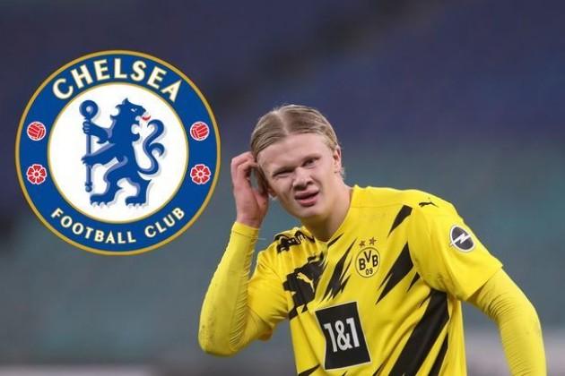 'Confirmed!' - Chelsea fans excited for Erling Haaland transfer after spotting two-word message - Bóng Đá