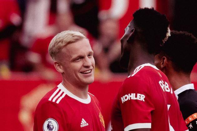 Donny van de Beek sent a message by Solskjaer after first appearance of the season for Manchester United - Bóng Đá