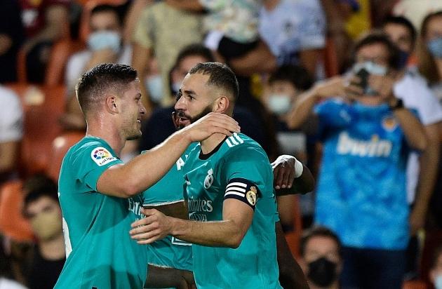 Ghi 2 bàn trong 5 phút cuối, Real Madrid ngược dòng hạ Valencia - Bóng Đá