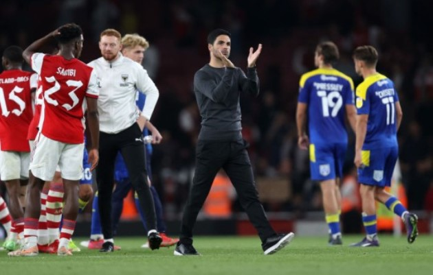 'I'm so proud of this kid' – Mikel Arteta hails Eddie Nketiah and reacts as Arsenal are drawn against Leeds - Bóng Đá