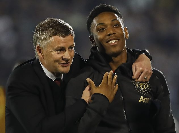 Jamie O'Hara: Solskjaer should follow what Thomas Tuchel did to get the best out of Anthony Martial at Manchester United - Bóng Đá