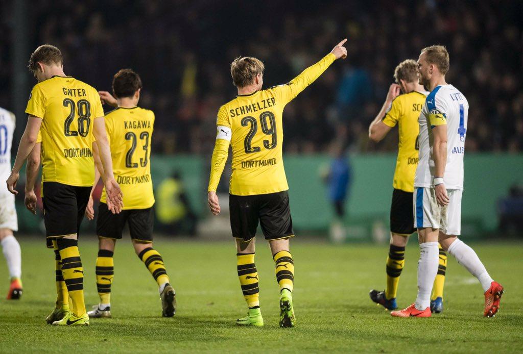 Chùm ảnh: Dortmund hạ gục