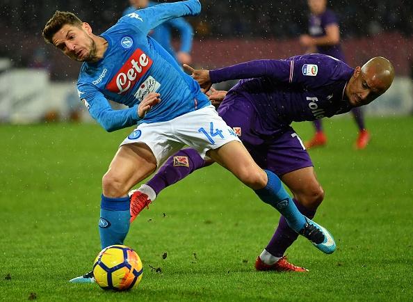 Bất lực trước khung thành, Napoli chưa thể vượt mặt Inter - Bóng Đá