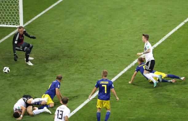 TRỰC TIẾP Đức 1-1 Thụy Điển: Reus tỏa sáng (H2) - Bóng Đá