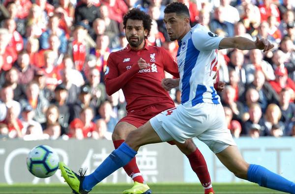 TRỰC TIẾP Liverpool 1-0 Brighton: Salah phá vỡ bế tắc (H1) - Bóng Đá