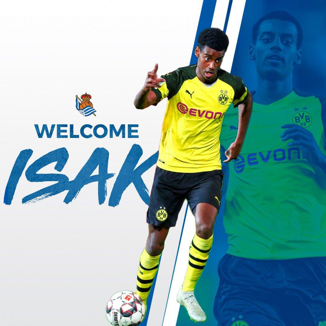 Ảnh Isak gia nhập Real Sociedad - Bóng Đá