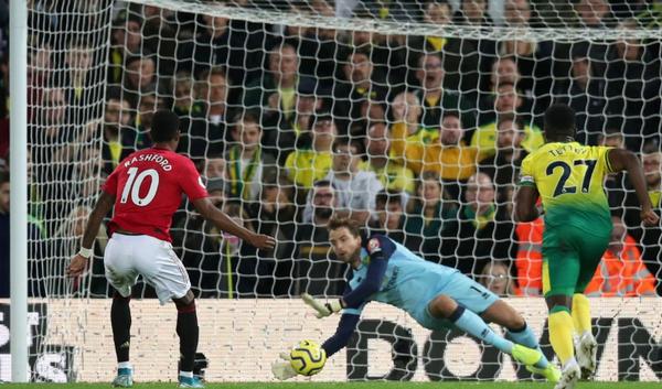 5 điểm nhấn Norwich 1-3 Man United: Bàn thắng 2000; 'Thần tài' Rashford - Bóng Đá