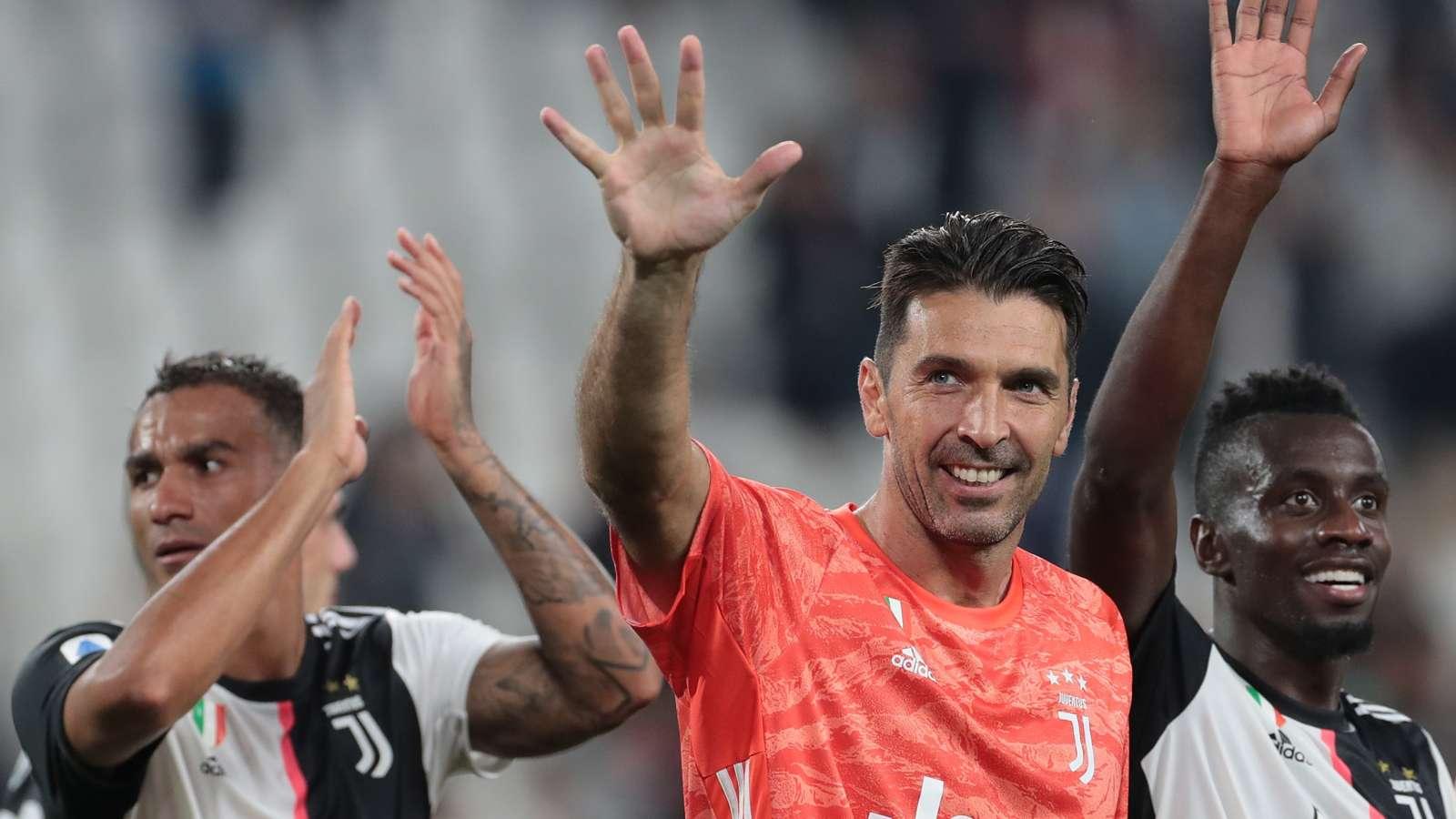 Juventus star Buffon 'very proud' after breaking Maldini's games record - Bóng Đá