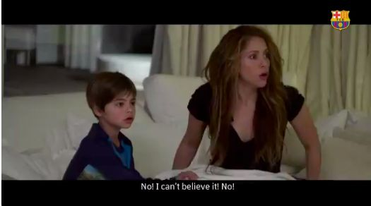 Trailer to Barcelona documentary shows Shakira's reaction to Liverpool nightmare - Bóng Đá