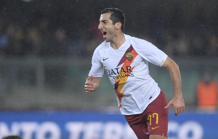 """Mkhitaryan after scrappy Verona win: """"We didn't play well, but we did what we had to do. We needed these three points"""". - Bóng Đá"""