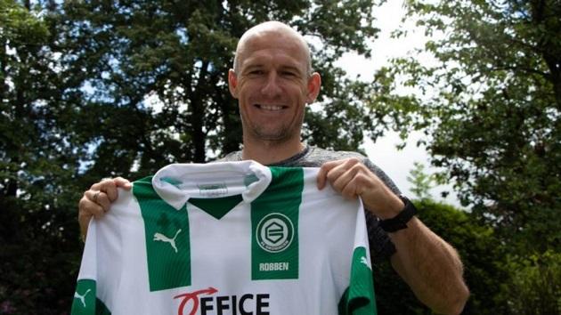 Robben trở lại - Bóng Đá