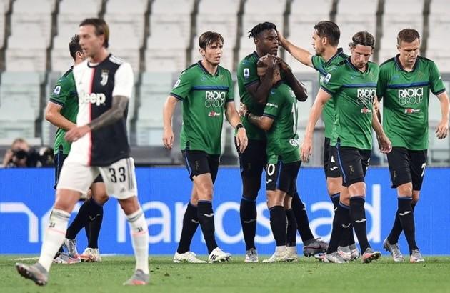 Atalanta phá kỷ lục ghi bàn tồn tại 70 năm của Juventus - Bóng Đá