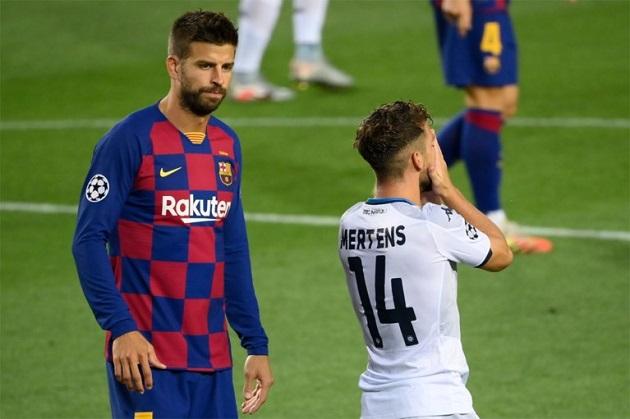 Mertens: 'Napoli forgot what to do' - Bóng Đá