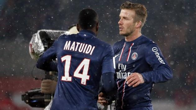 Beckham welcomes 'amazing' Matuidi - Bóng Đá