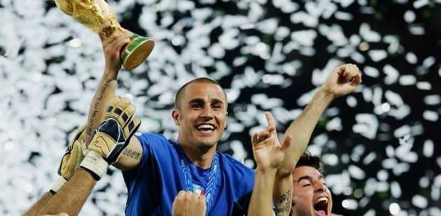 Cannavaro 47 tuổi - Bóng Đá