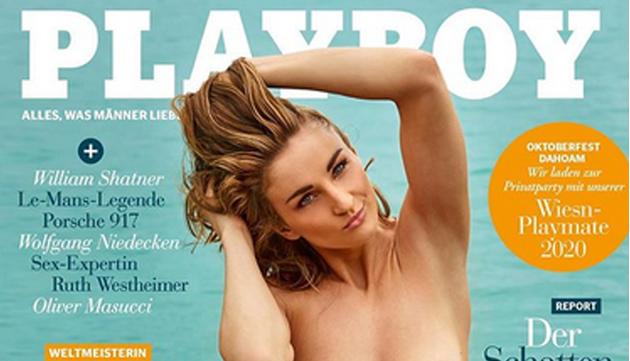 Elena Krawzow - VĐV Paralympic đầu tiên lên bìa tạp chí Playboy - Bóng Đá