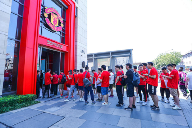 Manchester United's first 'Theatre of Dreams' China fan centre to open in Beijing by end of year - Bóng Đá
