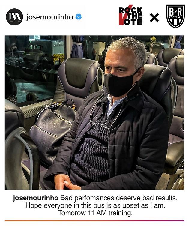 Mourinho Instagram - Bóng Đá