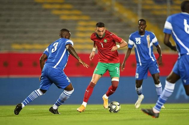 Morocco Ziyech - Bóng Đá