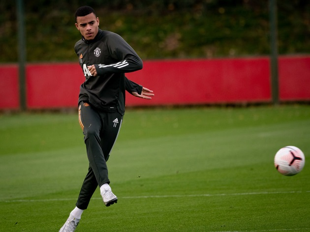 Mason Greenwood back in Manchester United training - Bóng Đá