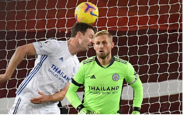 Jonny Evans' own goal was his sixth in the Premier League - Bóng Đá