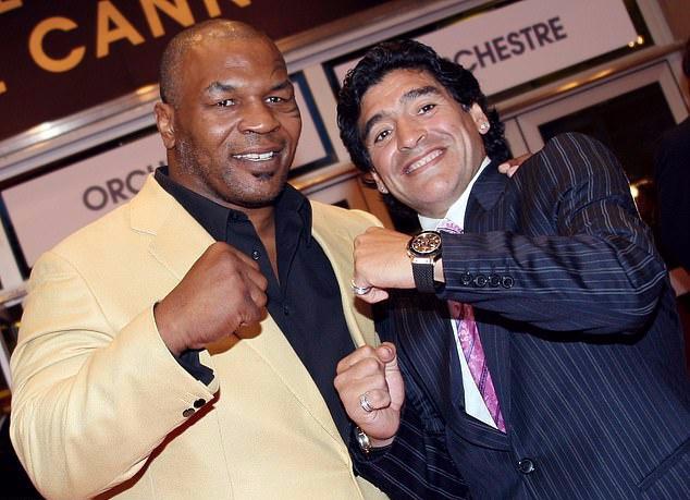 Lời chia tay cảm động của Mike Tyson đến Maradona - Bóng Đá