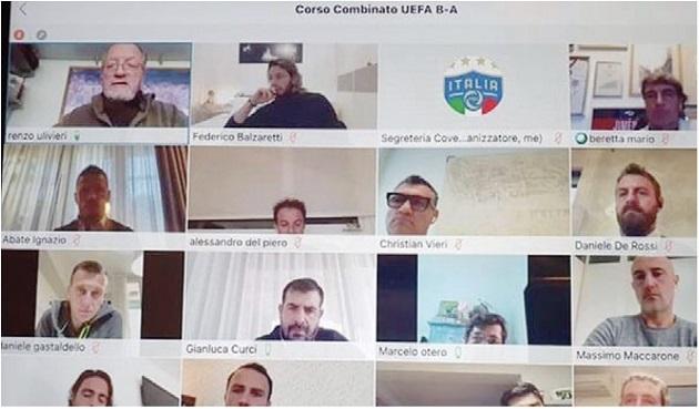Del Piero and De Rossi started coaching course - Bóng Đá