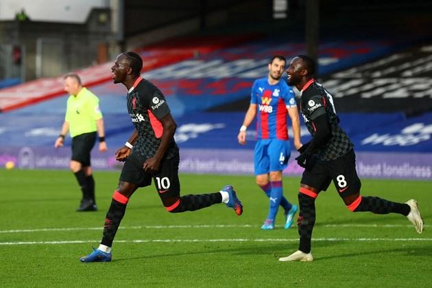 TRỰC TIẾP Crystal Palace 0-2 Liverpool (H1): Mane nâng tỷ số - Bóng Đá