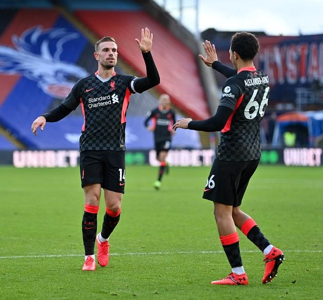 TRỰC TIẾP Crystal Palace 0-4 Liverpool (H2): Henderson ghi bàn - Bóng Đá