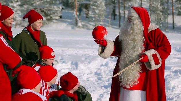 FC Santa Claus lighting up Lapland - Bóng Đá