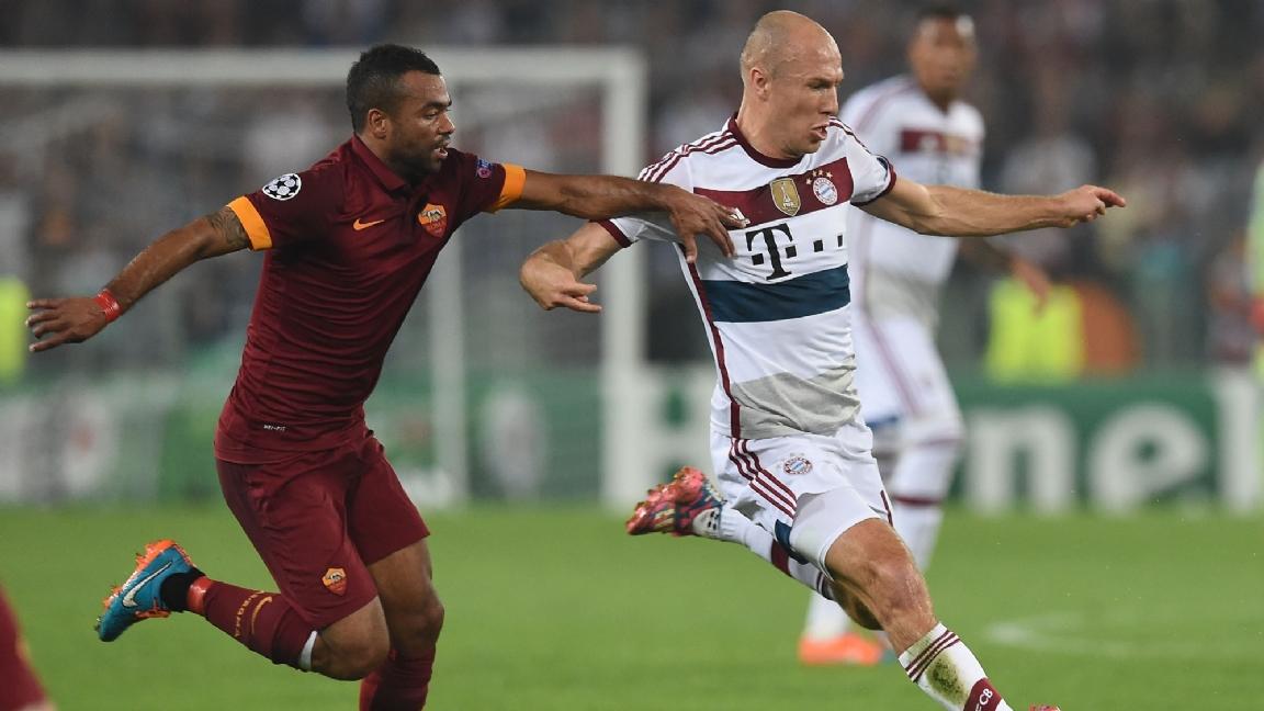 Ashley Cole chooses Robben over Messi: 'he destroyed me' - Bóng Đá