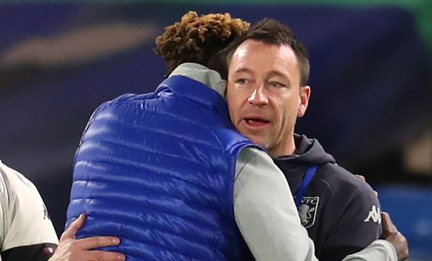 What happened between John Terry and Tammy Abraham before Chelsea drew with Aston Villa - Bóng Đá