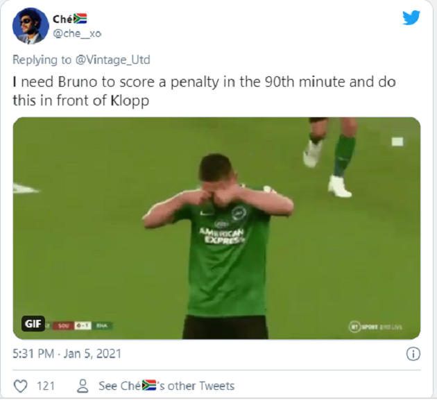 Manchester United fans ridicule Jurgen Klopp over Liverpool penalty gripe - Bóng Đá