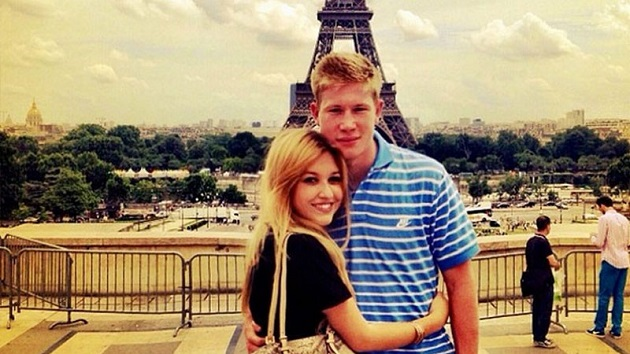 Kevin De Bruyne wife: The 'embarrassing story' of how Man City star met his future wife - Bóng Đá
