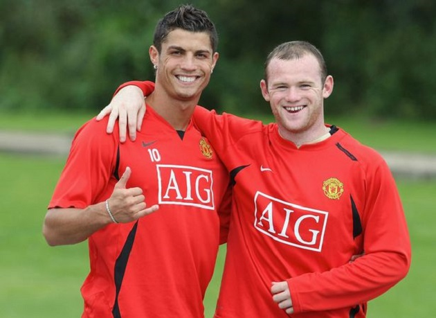 What Happened When Rooney And Ronaldo Met For The First Time - Bóng Đá