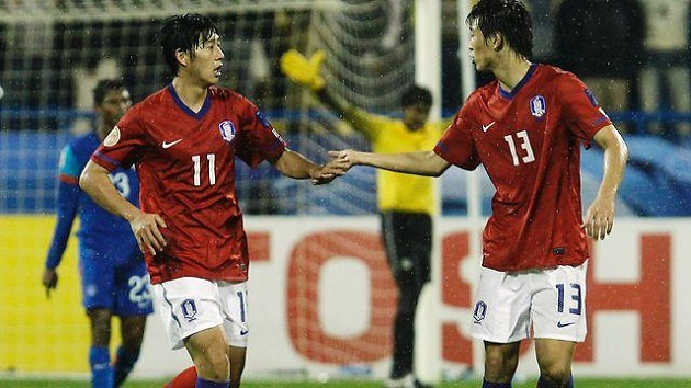 10 years ago today, Son Heung-min scored his first international goal for South Korea  - Bóng Đá